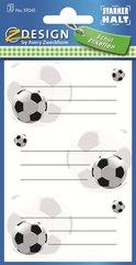 Naklejki na książki i zeszyty - Piłka Nożna