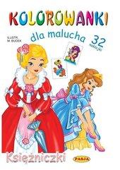 Kolorowanki dla malucha - Księżniczki