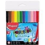 Flamastry Colorpeps Ocean 12 kolorów MAPED
