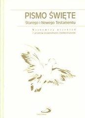 Pismo Święte ST i NT (biała oprawa, paginatory)