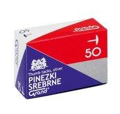 Pinezki srebrne (10szt) GRAND