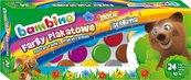 Farby plakatowe 24 kolory 10ml BAMBINO