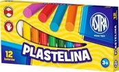Plastelina 12 kolorów ASTRA