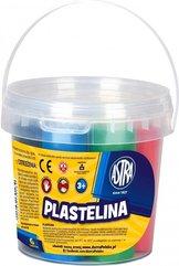 Plastelina wiaderko 6 kolorów ASTRA