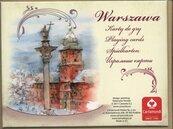 Warszawa Akwarele talia 55 listków