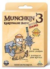Munchkin 3 Kardynalne Błędy BLACK MONK