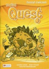 English Quest 3 Zeszyt ćwiczeń
