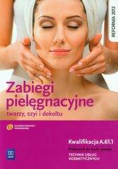 Zabiegi pielęgnacyjne twarzy szyi i dekoltu