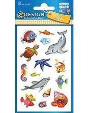 Naklejki papierowe - Zwierzęta morskie
