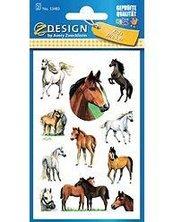 Naklejki na błyszczącym papierze konie