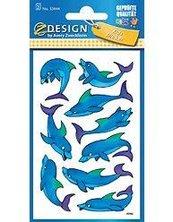 Naklejki na błyszczącym papierze delifiny