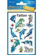 Tatuaże - Delfiny