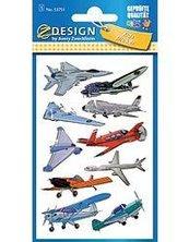 Naklejki folia 3D - Samoloty