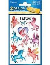 Tatuaże - Jednorożce
