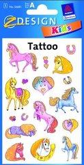 Tatuaże - Błyszczące kucyki