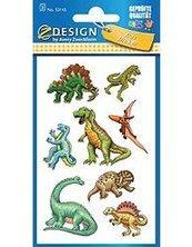 Naklejki papierowe - Dinozaury