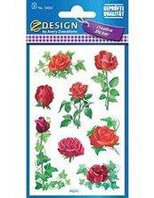 Naklejki z kwiatami - Róża 1