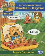Kocham czytać zeszyt 4. Sylaby 2