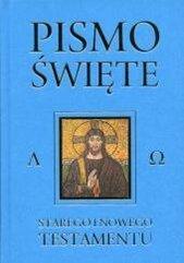 Pismo Święte Starego i Nowego Testamentu niebieski