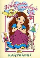 Wklejam i maluję - Księżniczki