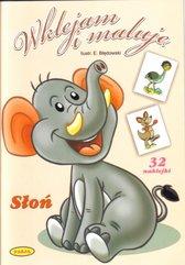Wklejam i maluję - Słoń