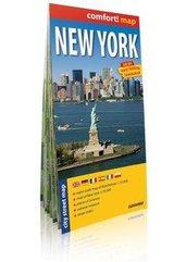 Comfort!map New York(Nowy Jork)1:15 00 plan miasta