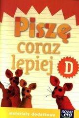 Już W Szkole Nowe 1 Piszę coraz lepiej D NE
