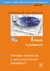 Elementy Rachunkowości Technologie CD Gratis WSiP