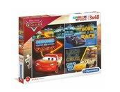 Puzzle 3x48 Super kolor Cars