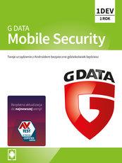 Program Antywirusowy G DATA Mobile Internet Security 12 miesięcy (1 urządzenie)