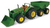 John Deere traktor z przyczepą światło/dźwięk TOMY