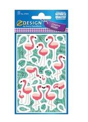 Naklejki papierowe - Flamingi
