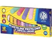 Plastelina pastelowa zapachowa 12 kolorów ASTRA