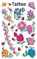 Tatuaże - Kwiaty