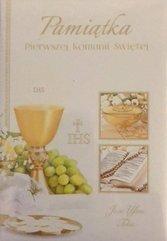 Książeczka brokat A5 Komunia wzór nr 017