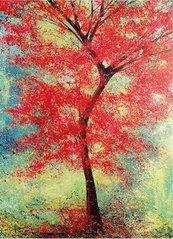Karnet B6 z kopertą The Red Tree