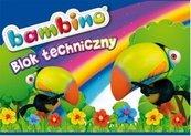 Blok techniczny A4/10K (10szt) BAMBINO