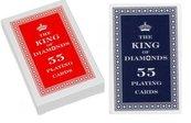 Karty 55 listków - The King of Diamonds TREFL