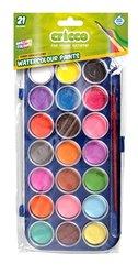 Farby akwarelowe 21 kolorów CRICCO