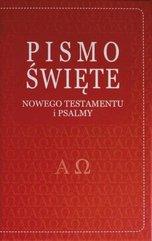 Pismo Święte Nowego Testamentu i psalmy - czerwone