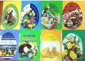 """Karnet wycinany B6 Wielkanoc """"Jajko"""" + koperta"""