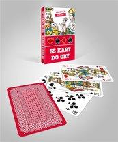 Karty 333 - talia czerwona CARTAMUNDI