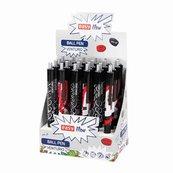 Długopis Venturio automat. niebieski (24szt) EASY