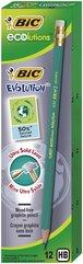 Ołówek Evolution Eco z gumką (12szt) BIC