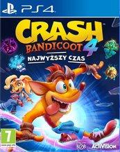 Crash Bandicoot 4: Najwyższy Czas (PS4)
