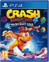 Crash Bandicoot 4: Najwyższy Czas (PS4) + Figurka