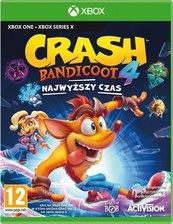 Crash Bandicoot 4: Najwyższy Czas (XOne) + Figurka