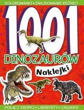 1001 dinozaurów Naklejki