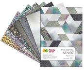 Blok A4/10K Silver 150g-230g HAPPY COLOR