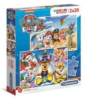 Puzzle 2x20 Super Kolor Paw Patrol
